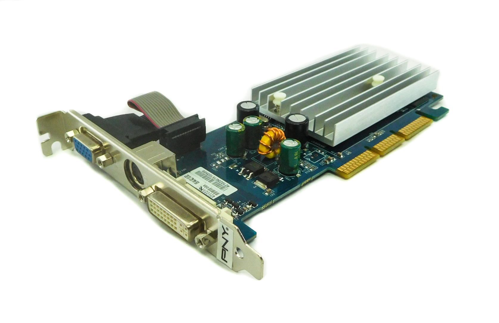 PNY G606200A8E49D 512MB GeForce 6200 AGP Graphics Card